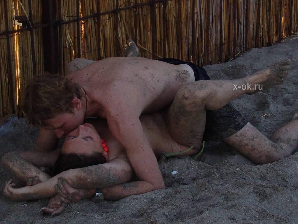 Секс фото голых девушек на пляже!